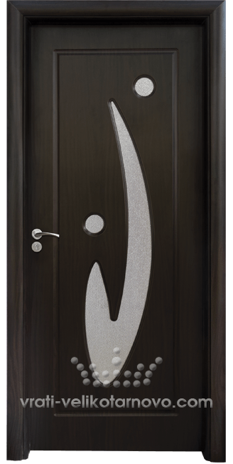 Интериорна HDF врата, модел 070 Венге